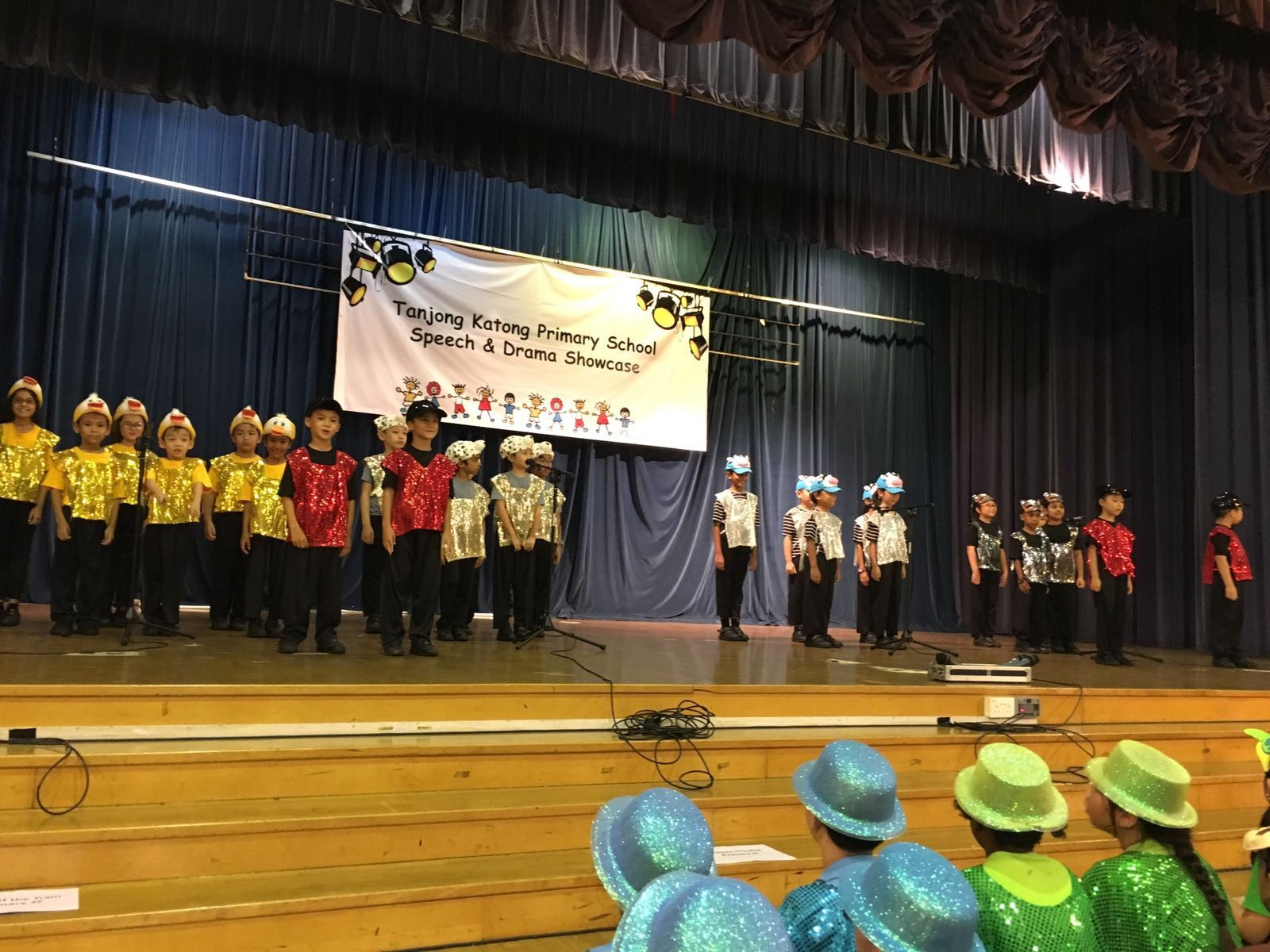 P1 & P2 Speech & Drama Programme - Performance