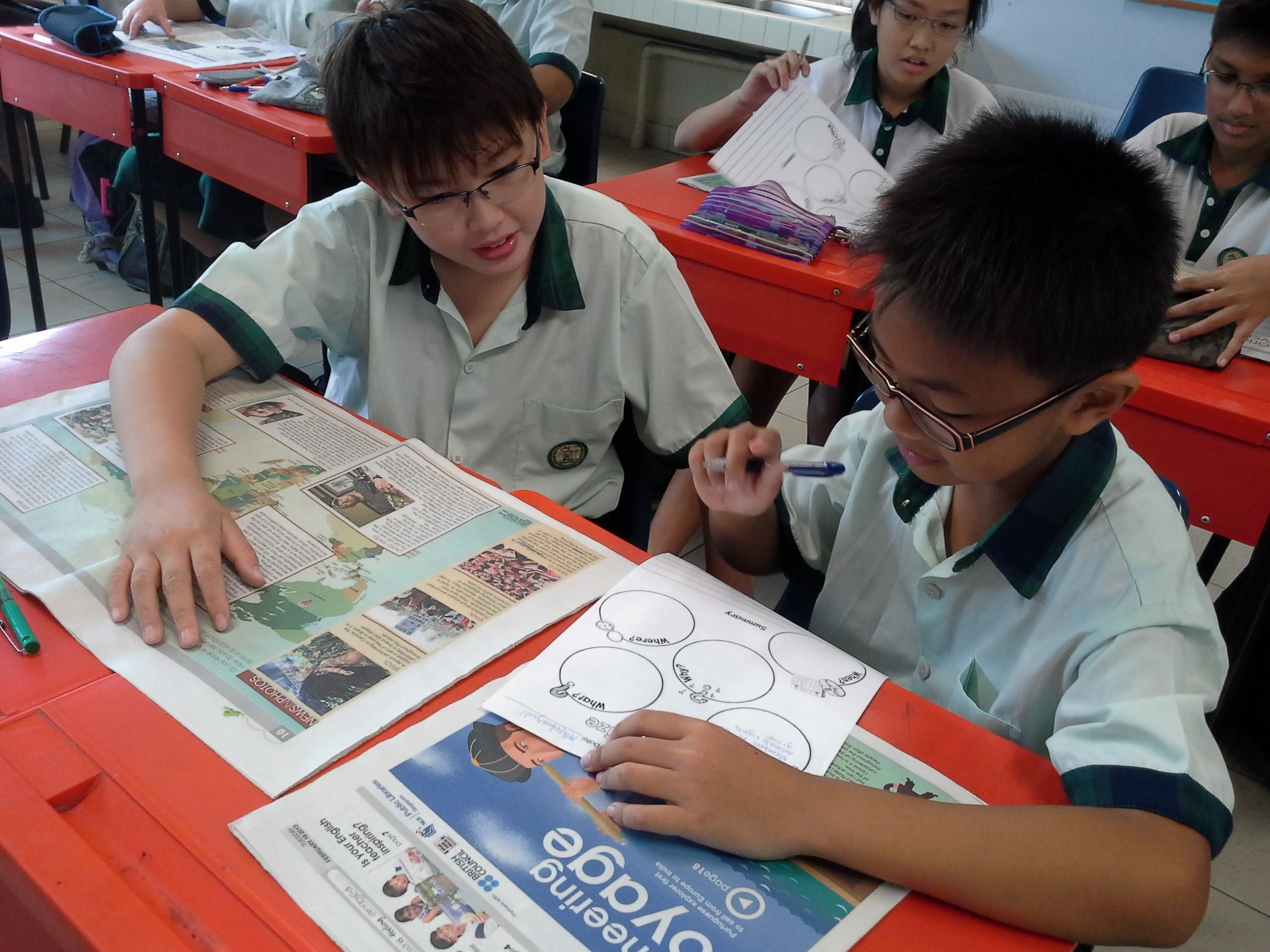 newspaper reading and students Reading newspaper is a very good habit we cannot think of modern life without the newspaper it is a storehouse of knowledge reading newspapers broaden our outlook and enriches our mind.