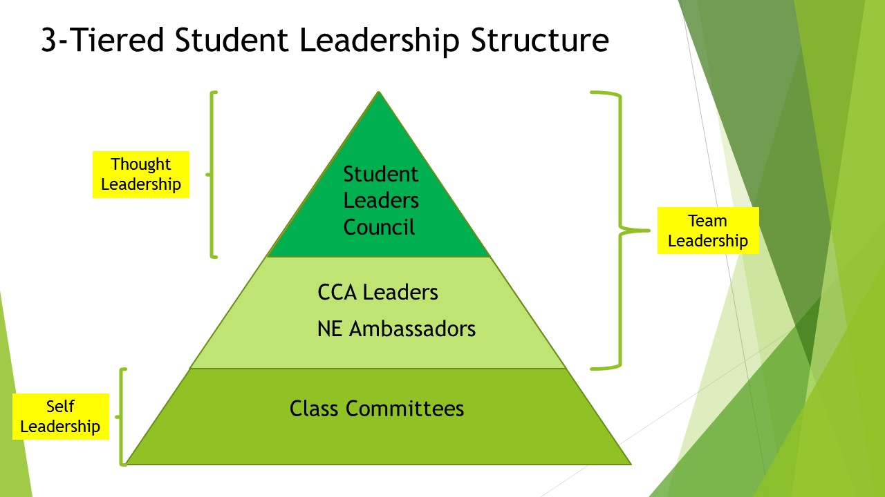 3 Tiered Student Leadership Structure
