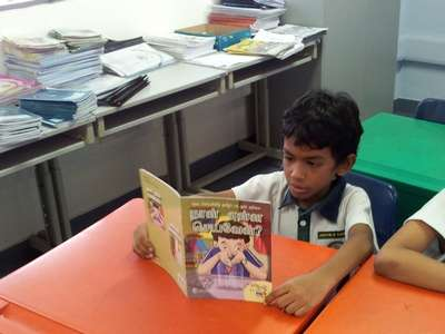 TL Reading Programme - Photo 01