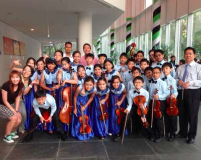 "String Ensemble presented ""March Momentous 2. March from the Nutcracker Suite"""